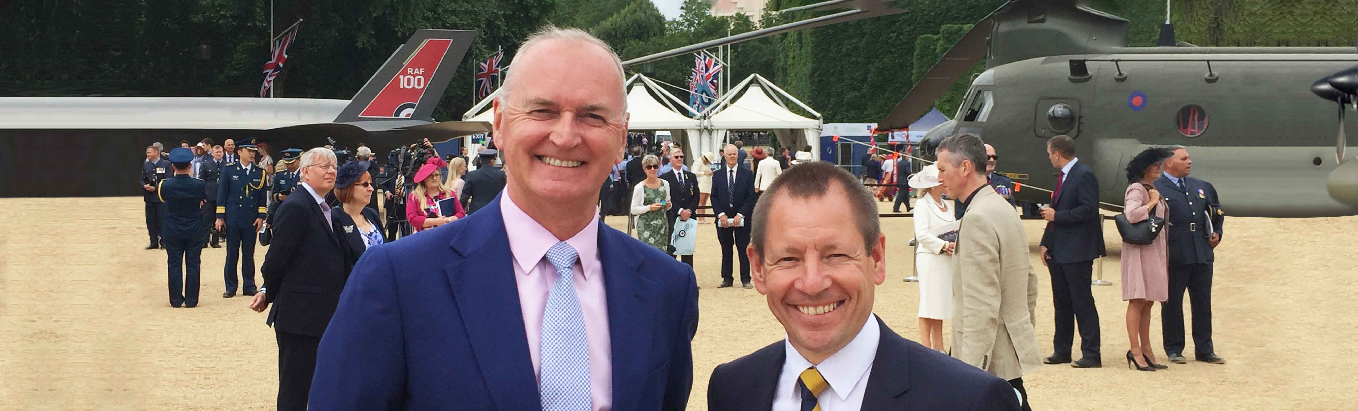 TAG航空支持英国皇家空军100周年庆典