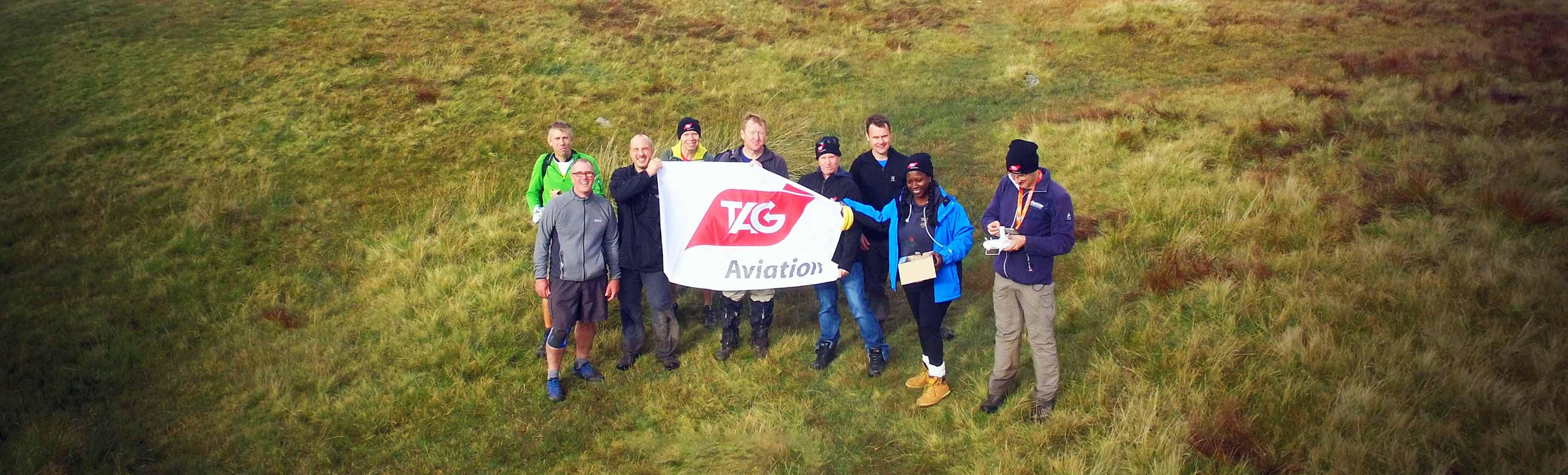 TAG航空英国团队为Fly2help筹得6000英镑