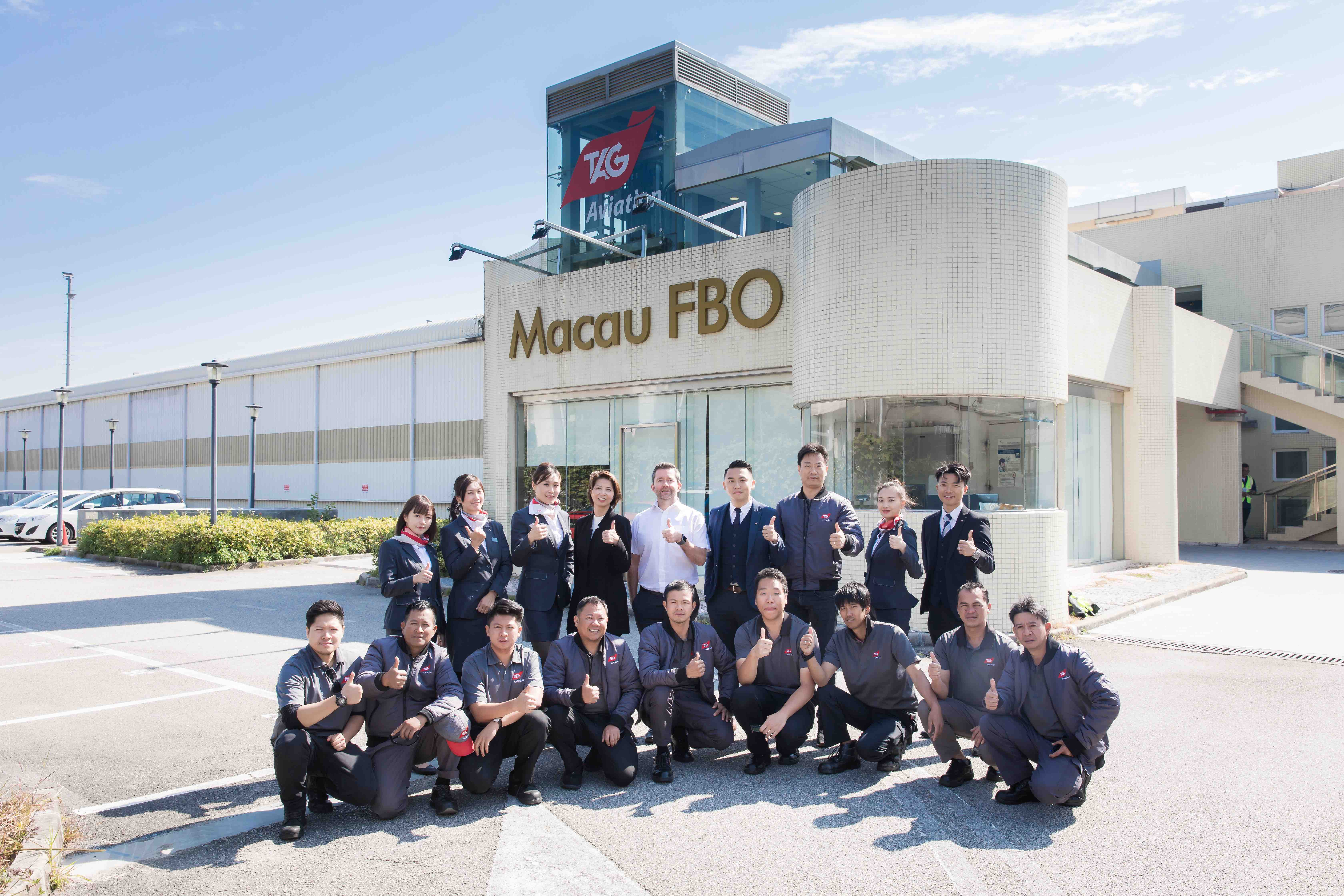 TAG Aviation Macau FBO achieves IS-BAH Stage 2 certificate of registration