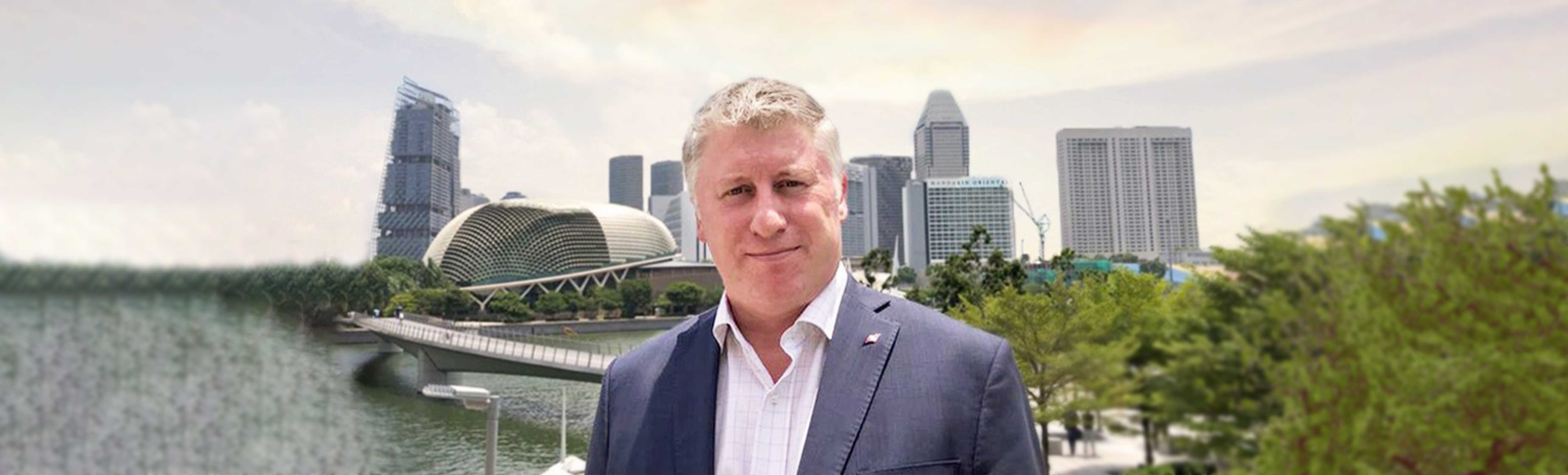 TAG航空亞洲區商務總監 Simon Bambridge 遷往新加坡 開發東南亞市場