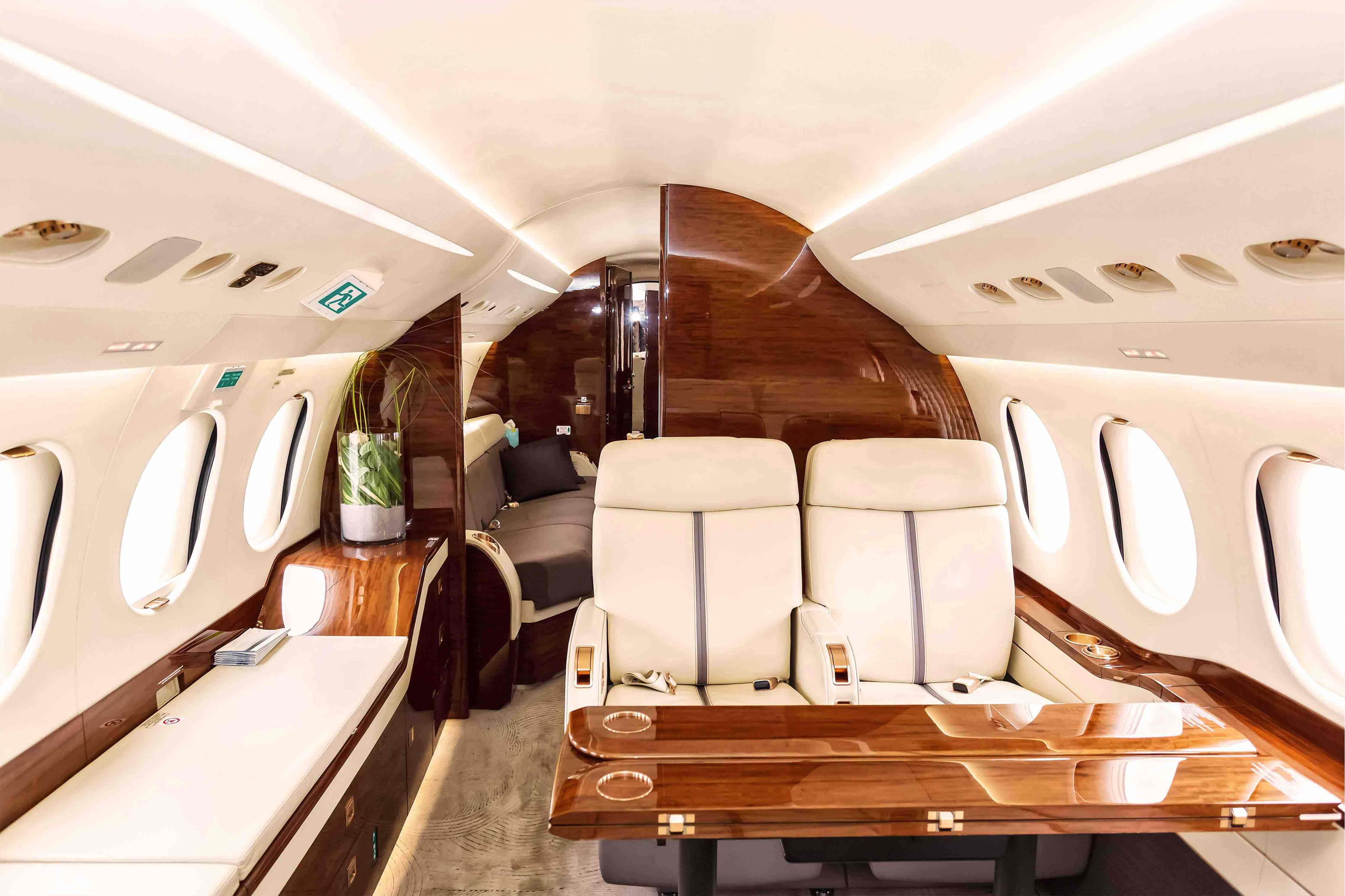 Choose your Aircraft and its Interior